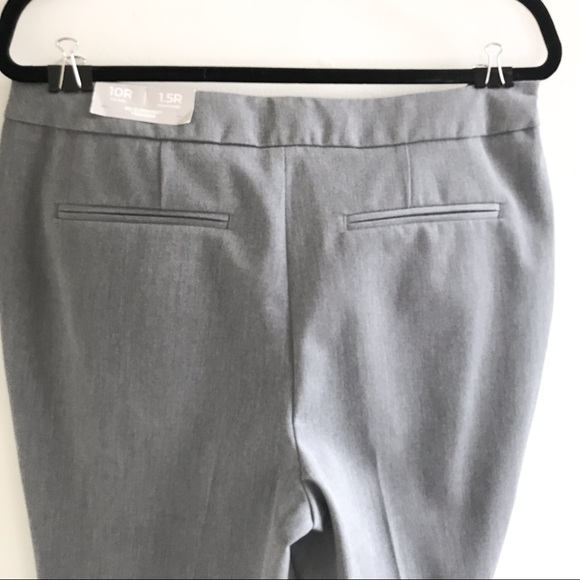 Chico's gray boot cut So Slimming Trousers size 10