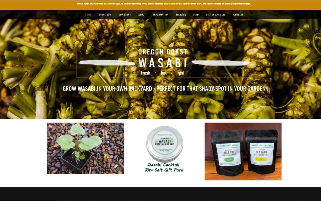 Client Spotlight : Oregon Coast Wasabi