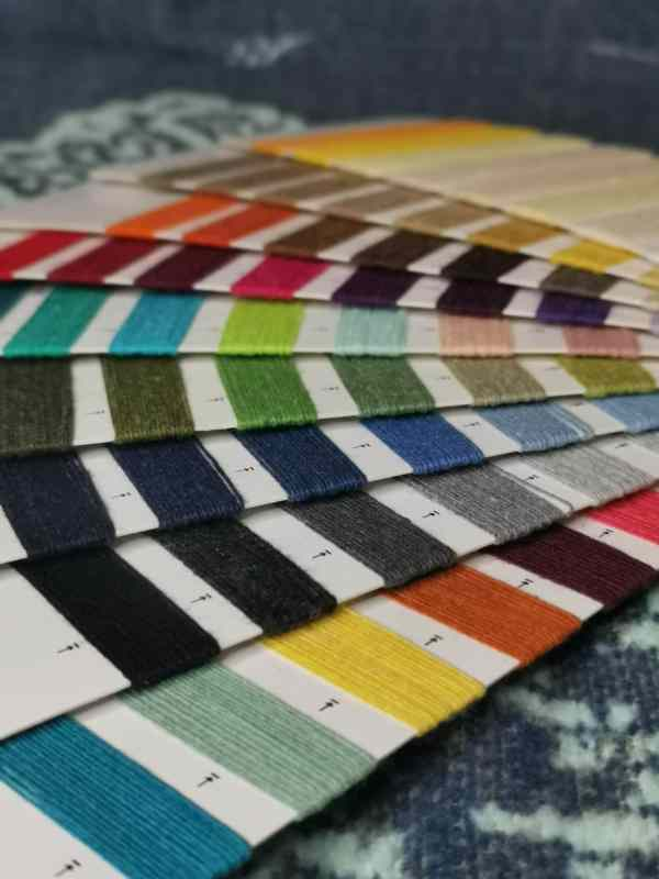 blanket colour swatch