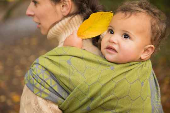 geode-diurnal-woven-wrap-cute-baby-back-carry-yellow-leaf