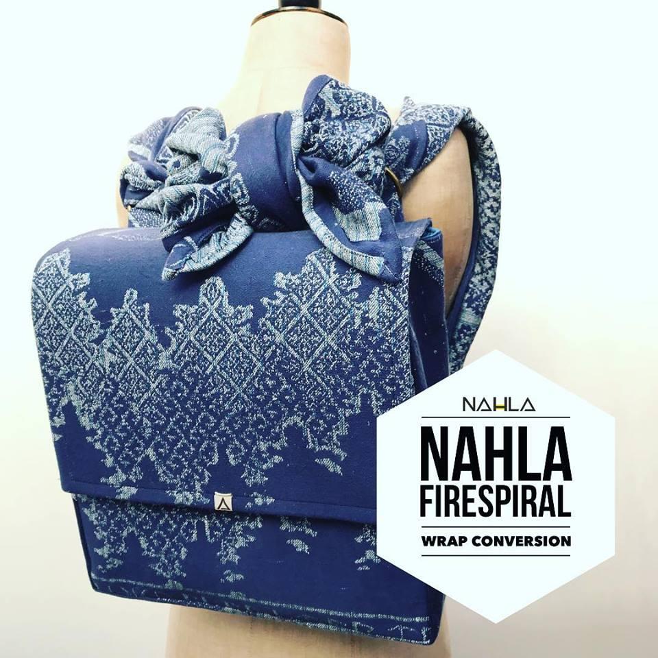 nahla babywearing bag