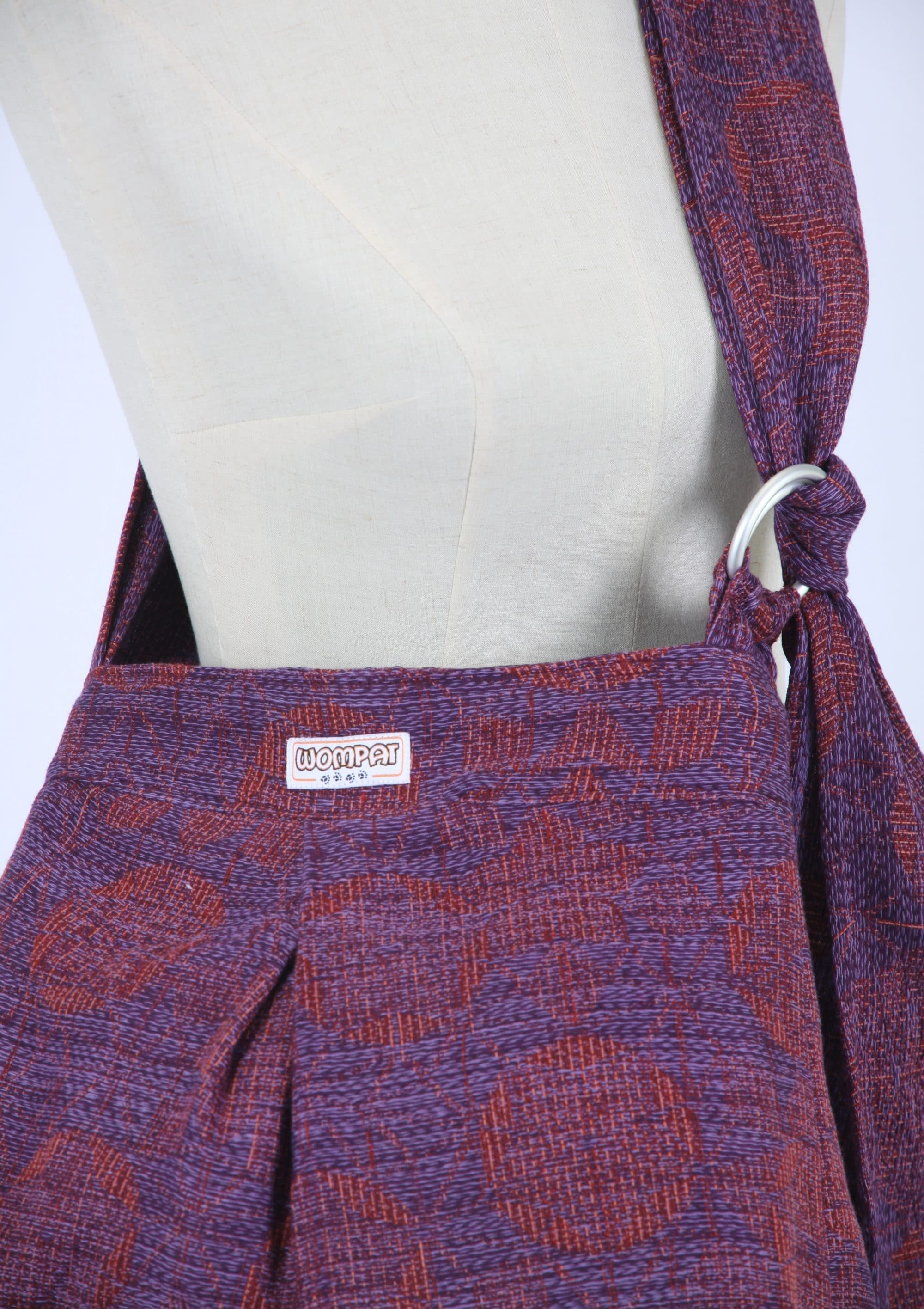 c5fdac46b2e Garnet Callisto Kaleidoscope Babywearing Bag ⋆ Firespiral Slings