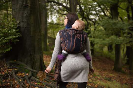 Whinlatter-midnight-birch-trees-woven-wrap-back-carry