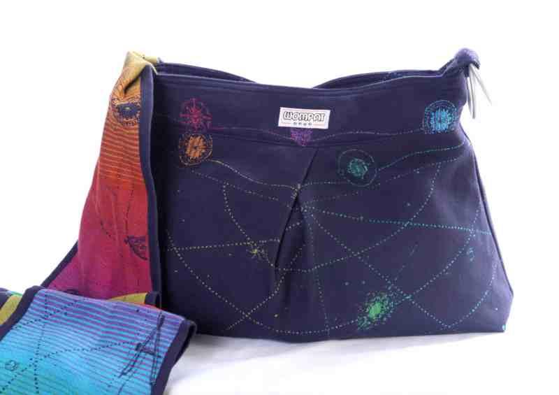 bifrost starmap babywearing wompat bag