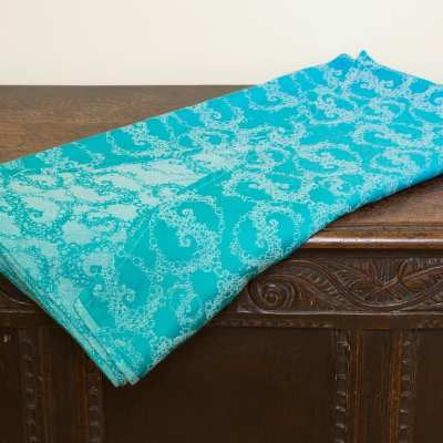 Seaspray Cyano Tentacular Spectacular - woven wrap