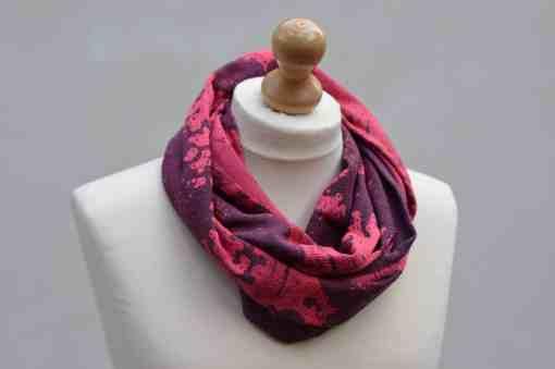 night's watch sunset seafoam loop scarf