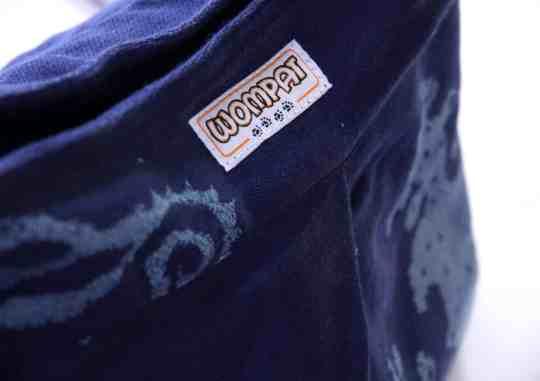runnelstone twilight seafoam wompat babywearing bag