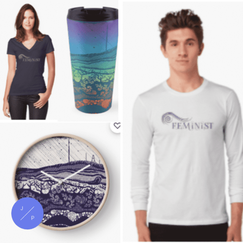 T-Shirts and printed accessories