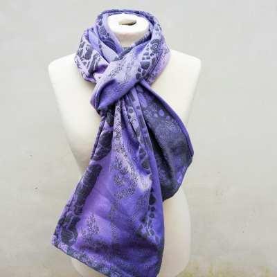 greystoke pink moon scarf