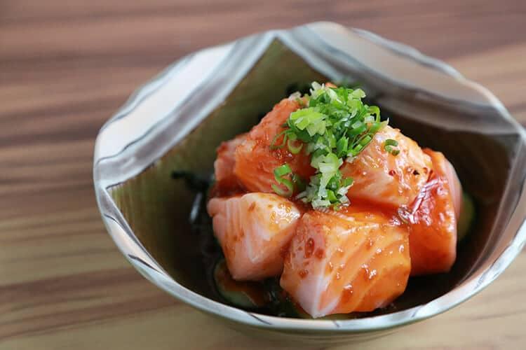辣味生鮭魚