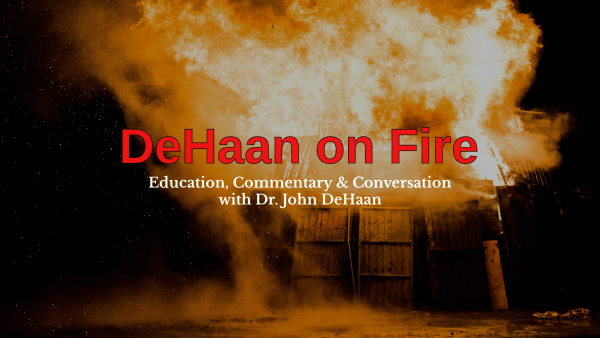 """DeHaan On Fire"" YouTube Channel"