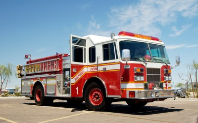 Toch A Fire Truck Event Assist First Nations Evacuees in Ontario