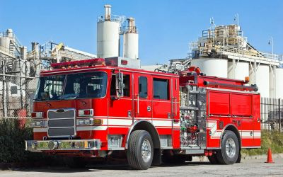 Industrial Fire Brigades Ready to Assist Municipal Departments