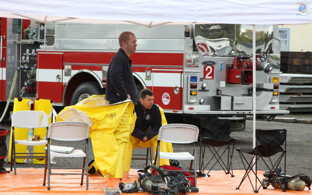 Study on Overhauling a Fire Indicates Chemical Hazards