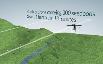 Drones used to Plant Trees