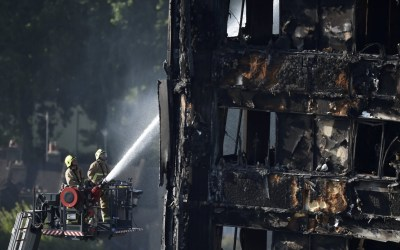 First of Two Reports Released on Grenfell Tower Fire in London, uk