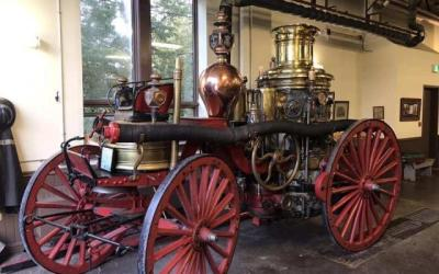 Historic steam fire engine returns to Halifax