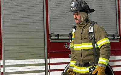 Chemical in firefighter turnout gear potential cancer agent