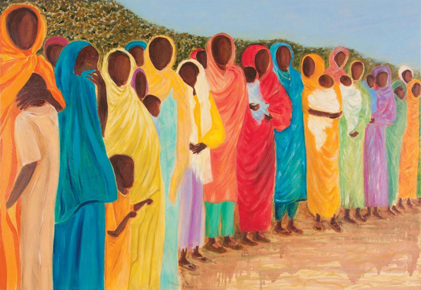 Reeta Sarkar - Genocide victims in Darfur-856-590