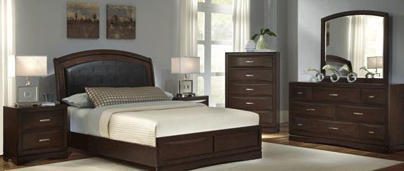 Paturi tapitate pentru un aer proaspat in dormitor la Henderson