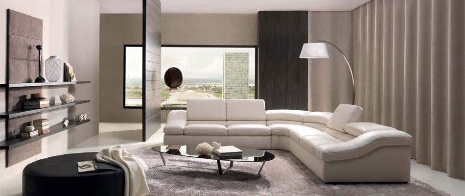 Variante de mobilier modular, biblioteci si mobila living pe Henderson
