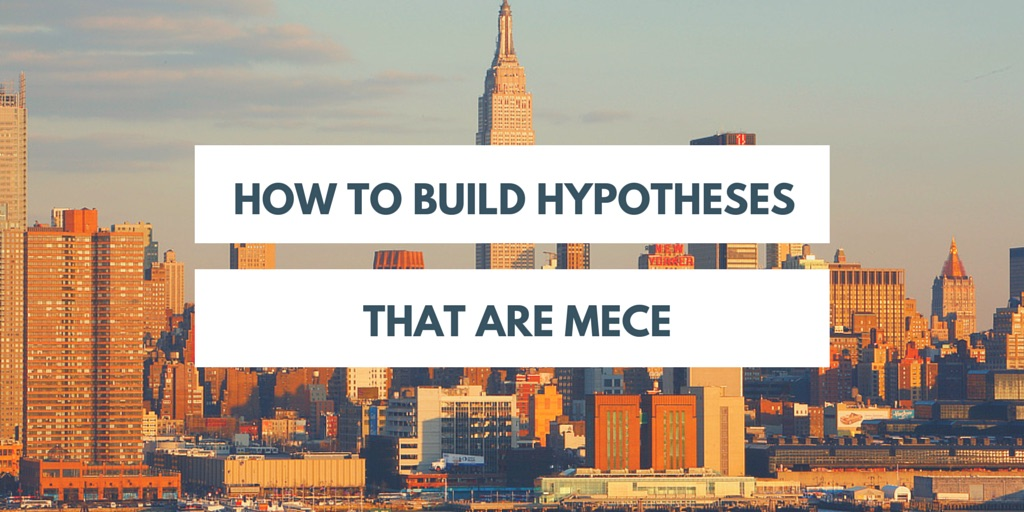 how to build hypotheses