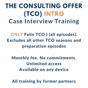 Case Interviews Intro  - Firmsconsulting l Strategy Skills & Case Interviews