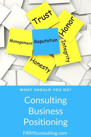 consulting business positioning
