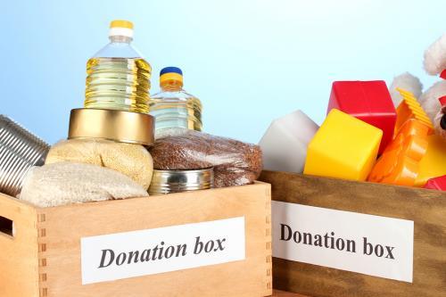 żywność - darowizna