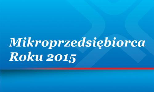 mikroprzedsiebiorca roku 2015