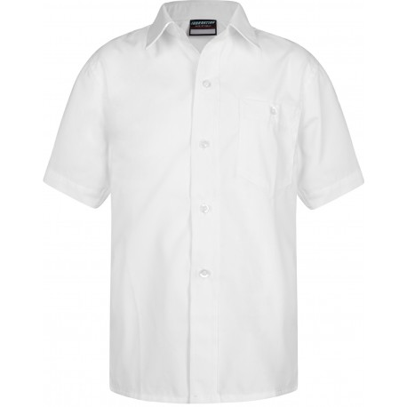 Boys White Shirts - Twin Pack