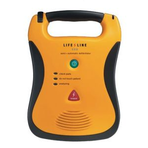 lifeline semi automatic defibrillator 5 year battery pack
