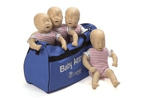 Baby Anne CPR Manikin – (Pack of Four)
