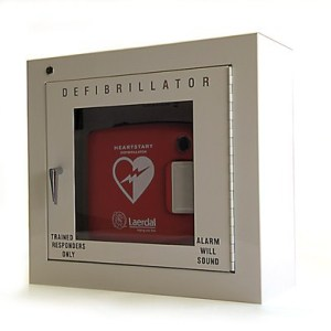 philips heartstart aed wall cabinet