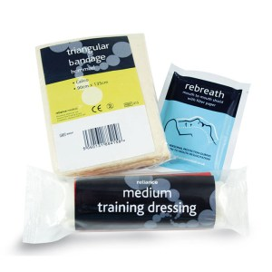 First Aid Supplies Training pack
