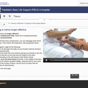Paediatric Basic Life Support (PBLS) in Hospital Elearning