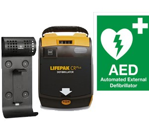 Lifepak CR Plus Fully Automatic AED Starter Kit