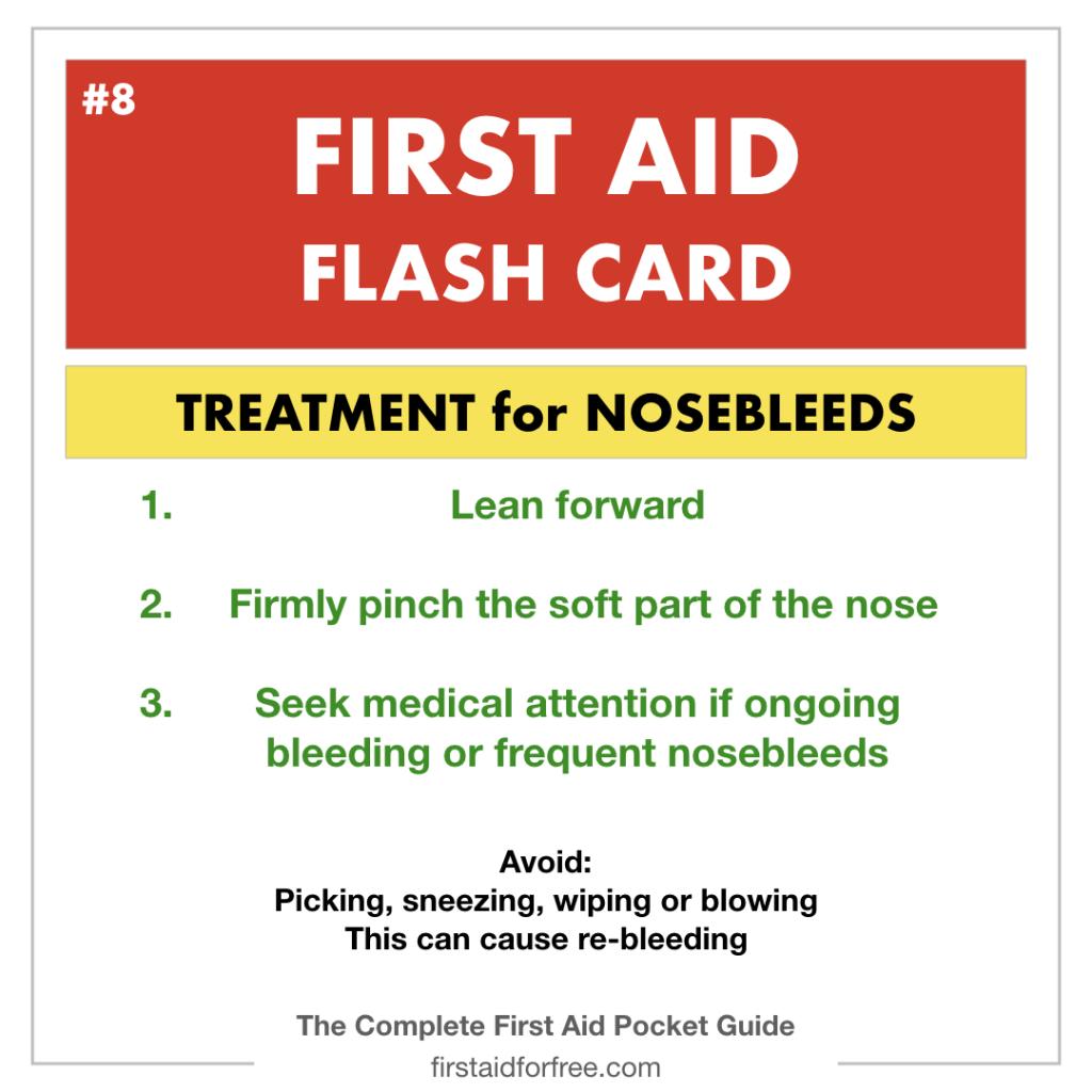 First Aid Flashcards