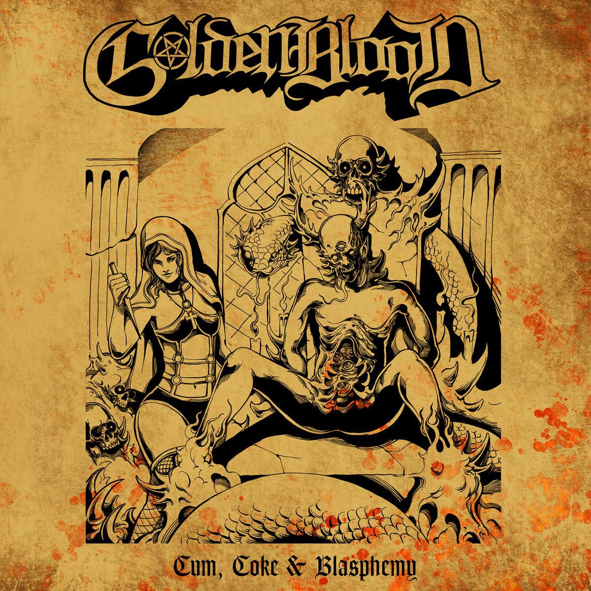Golden Blood – Cum, Coke and Blasphemy - FirstAngelMedia.com