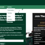 Nigerian Army Recruitment 2020 78RRI – Application Details