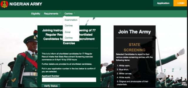 Nigerian Army Recruitment 2019/2020 78RRI