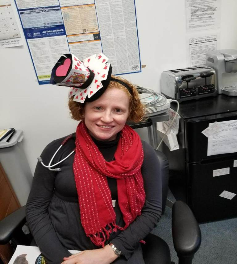 Our Manchester and Vernon locations Celebrate Crazy Hat Day