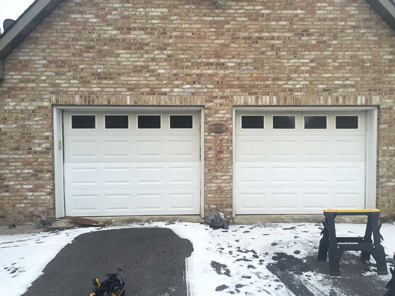 Carrick Garage Doors Before