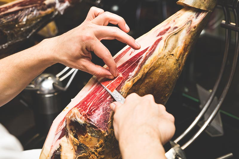 Jamón Ibérico de Bellota - Most expensive ingredients