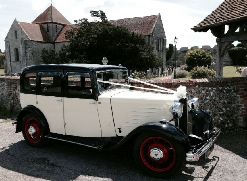Vintage Singer Vintage 1933 Wedding Car Hire In Fareham