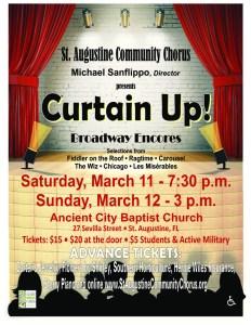 "St Augustine Community Chorus ""Curtain Up!"" @ Ancient City Baptist Church | St. Augustine | Florida | United States"