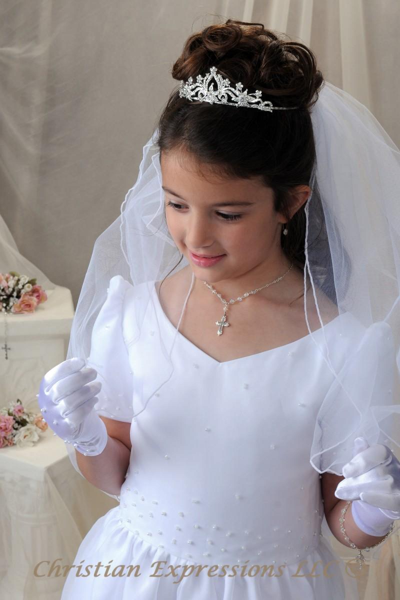 First Communion Crown Tiara 4393
