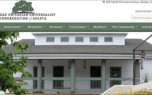 First Crescent Designs Web Development Santa Barbara California - Live Oak Unitarian Universalist Congregation of Goleta