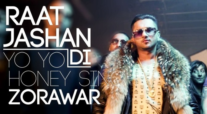 Honey Singh Raat Jashn