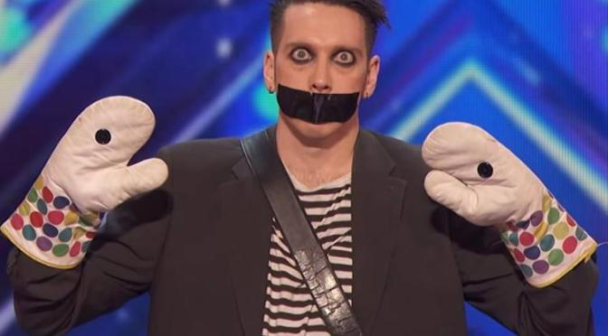 Tape Face Audition America's Got Talent